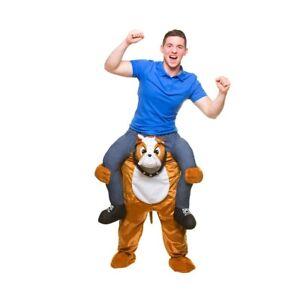 Carry Me ® Bulldog Costume Adulti CAGNOLINO MASCOTTE Commedia Costume