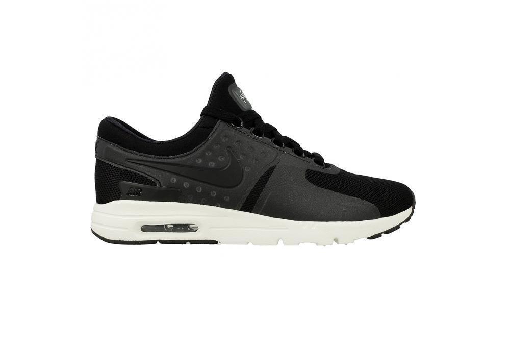 Women's Nike Air Max Zero Running Black Trainers 857661 002 Casual wild