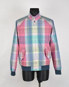 Gant-madras-Multicolor-Hombre-Chaqueta-Talla-L-AUTENTICO