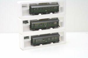 Roco-Wagenset-Umbauwagen-44252-44253-44254-3-teilig-DB-in-H0-fuer-Wechselstrom