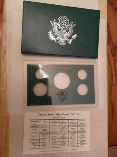 1995 Proof Set Box and Lens ONLY