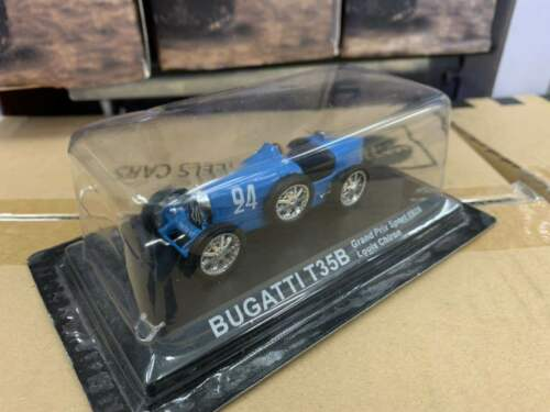 1//43 BUGATTI T35B Grand Prix Sport 1928 Louis Chiron DieCast Model Collection