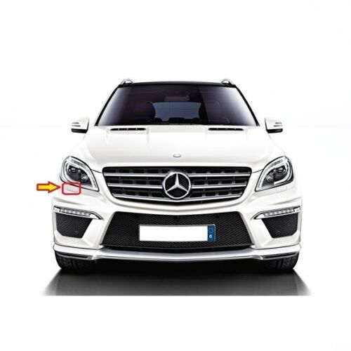 MERCEDES MB ML W166 HEADLIGHT WASHER COVER RIGHT PAINTED BY YOUR COLOUR CODE