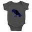Infant-Baby-Rib-Bodysuit-Jumpsuit-Romper-Clothes-Beautiful-Black-Crow-Raven-Bird thumbnail 22