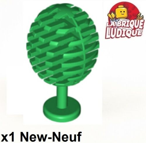 1x Plant small tree arbre fruit fruitier petit rond vert//green 3470 NEUF Lego
