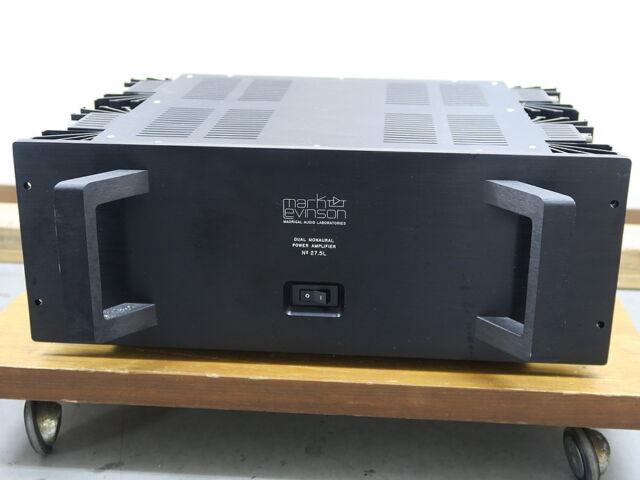 mark levinson no 27 5l stereo power amplifier used 1992 audio ebay rh ebay com Online User Guide Online User Guide