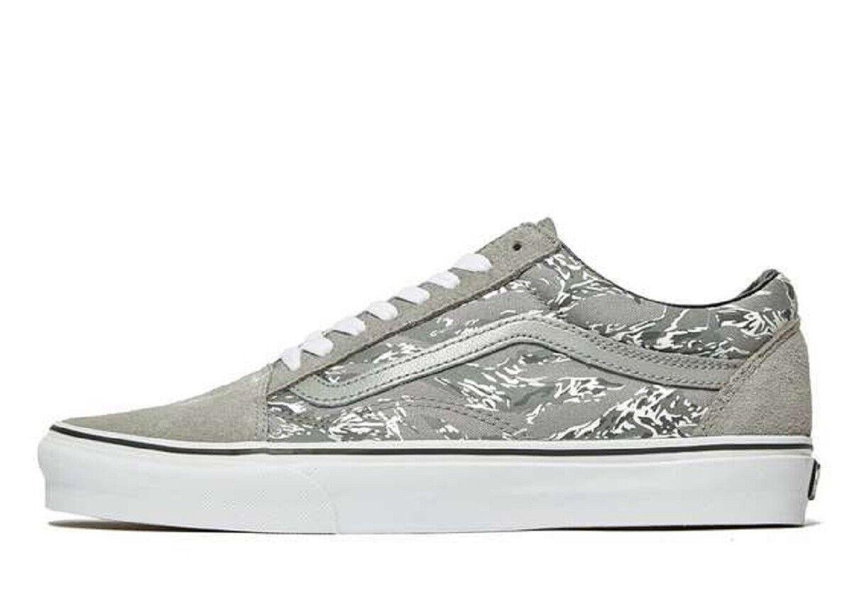 Latest Vans OLD SKOOL-Men's Trainers(&10 &44.5)Grey-Brand New