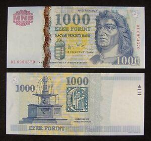 UNC 2006 P-194 Hungria Hungary 500 Forint COMM