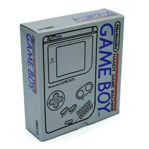 Nintendo-GameBoy-Konsole-grau-Classic-1989-DMG-01-JAP-mit-OVP