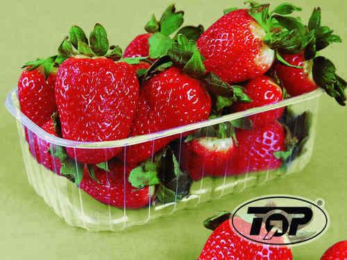 1100 Beerenobstschalen Obstbau Verpackungsschalen Obstschalen für 1000g PET klar
