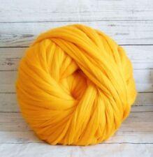 Giant yarn 100 % merino wool yarn extreme knitting, arm knitting,1kg