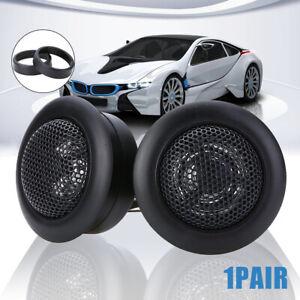2Pcs-Super-T120-Power-Loud-Stereo-Dome-Tweeter-Car-Audio-Speaker-amp-Adapter-Cap