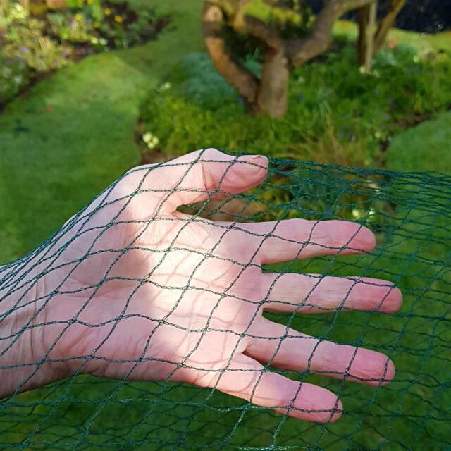 Black Nutleys 5 x 12 m Heavy-Duty Woven Bird Netting