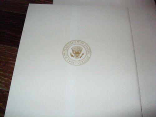 Hubert Humphrey 1965 in env. Official Inaugural Program Lyndon Baines Johnson