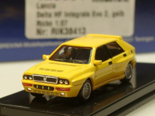 38413-1:87 Ricko Lancia Delta HF Integrale Evo 2 gelb