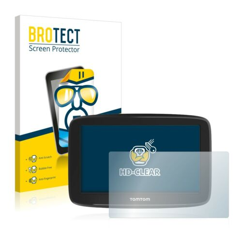 "5/"" Film De Protection Film 2x brotect Protection d/'écran TomTom Go Basic"