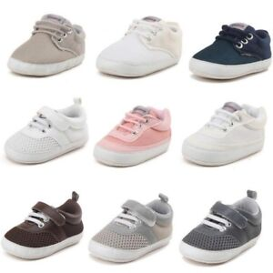 Infant Baby Boys Sneakers Shoes Crib Bebe Footwear Classic Casual First Walker
