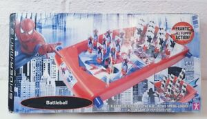 Spider-Man-Battleball-Game-Childrens-Toy-In-box-Marvel-Collectable-Rare