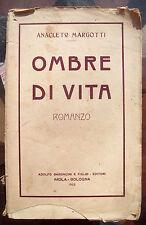 1922 RARISSIMA PRIMA EDIZIONE DEL PITTORE ANACLETO MARGOTTI DA SAN POTITO. IMOLA