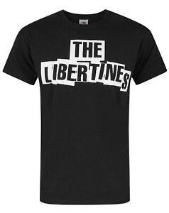 The-Libertines-Logo-Men-039-s-T-Shirt