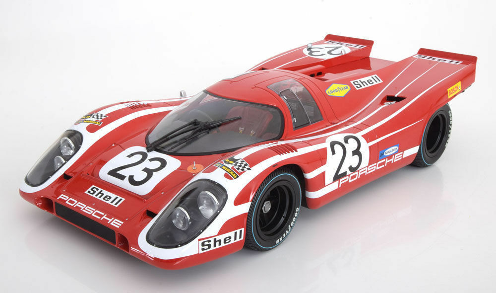 MINICHAMPS MINICHAMPS MINICHAMPS 1970 Porsche 917 K  23 Winner 24h LeMans 1 12 Large Car New Item NICE 13f