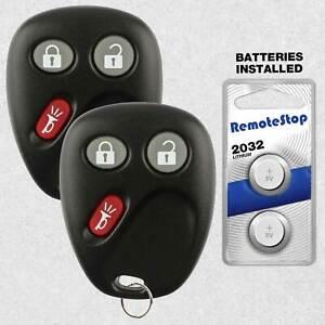2 For 03 2004 2005 2006 2007 Chevrolet Silverado 1500 2500 3500 Remote Key Fob