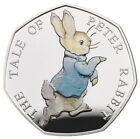 UNITED KINGDOM UK 2017 Peter Rabbit Silver Proof 50p Beatrix Potter