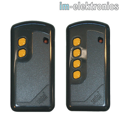 Garagentor Fernbedienung 2 Buttons 433 MHz EV1527 1~4-Kanal RF Transmitter Funk Fernbedienung Handsender Einfache Steuerung f/ür offenes Garagentor.