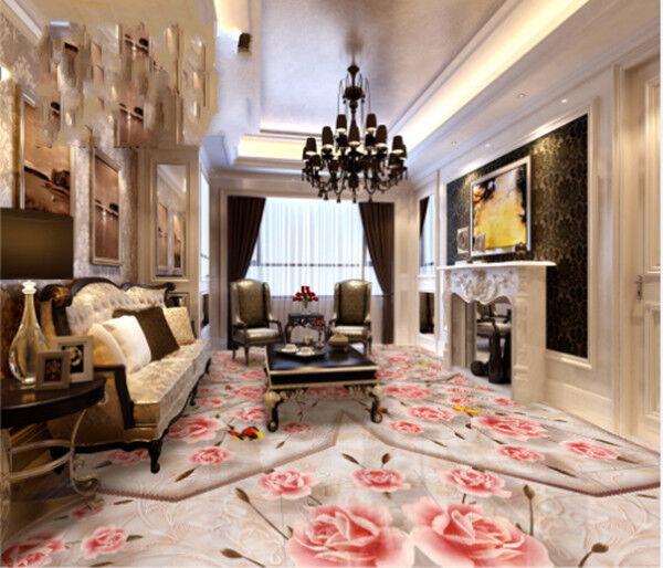 3D Flower Art 91 Floor WallPaper Murals Wall Print Decal AJ WALLPAPER US Carly