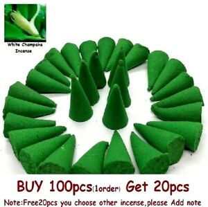 100 Incense Cones High Quality Premium Incence Scent Natural Aroma Burner Gift