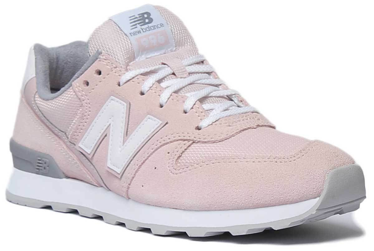 New Balance WR996ACP Women Suede Leather Light Pink Grey Trainers UK Size 3 - 8