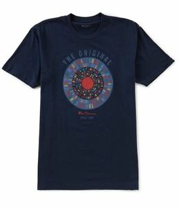 MENS-BEN-SHERMAN-BRIGHTON-CAMDEN-TEXT-COTTON-TARGET-T-SHIRT-50139-NAVY-BLUE