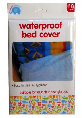 BED WETTING WATERPROOF SHEET Child Baby Pets Single ...