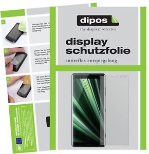 2x-Sony-Xperia-XZ3-Film-de-protection-d-039-ecran-protecteur-antireflet-dipos