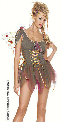 Garden Fairy Lace up costume adult Leg Avenue 83023 Brand NEW!