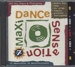 MAXI-DANCE-SENSATION-7-NEW-2CD-COMPILATION-1992-VARIOUS-ARTISTS-NEU