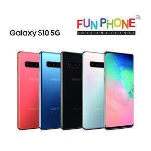 Samsung-Galaxy-S10-5G-SM-G977N-256GB-Unlocked-Smartphone-Excellent-Condition