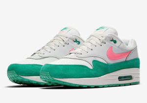 sports shoes e5112 700d3 Image is loading Nike-Air-Max-1-One-Watermelon-Kinetic-Green-