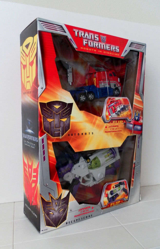oferta de tienda Transformers Transformers Transformers 2007 película rara Giftset Megatron Vs Optimus Prime Exclusivo De México   minorista de fitness