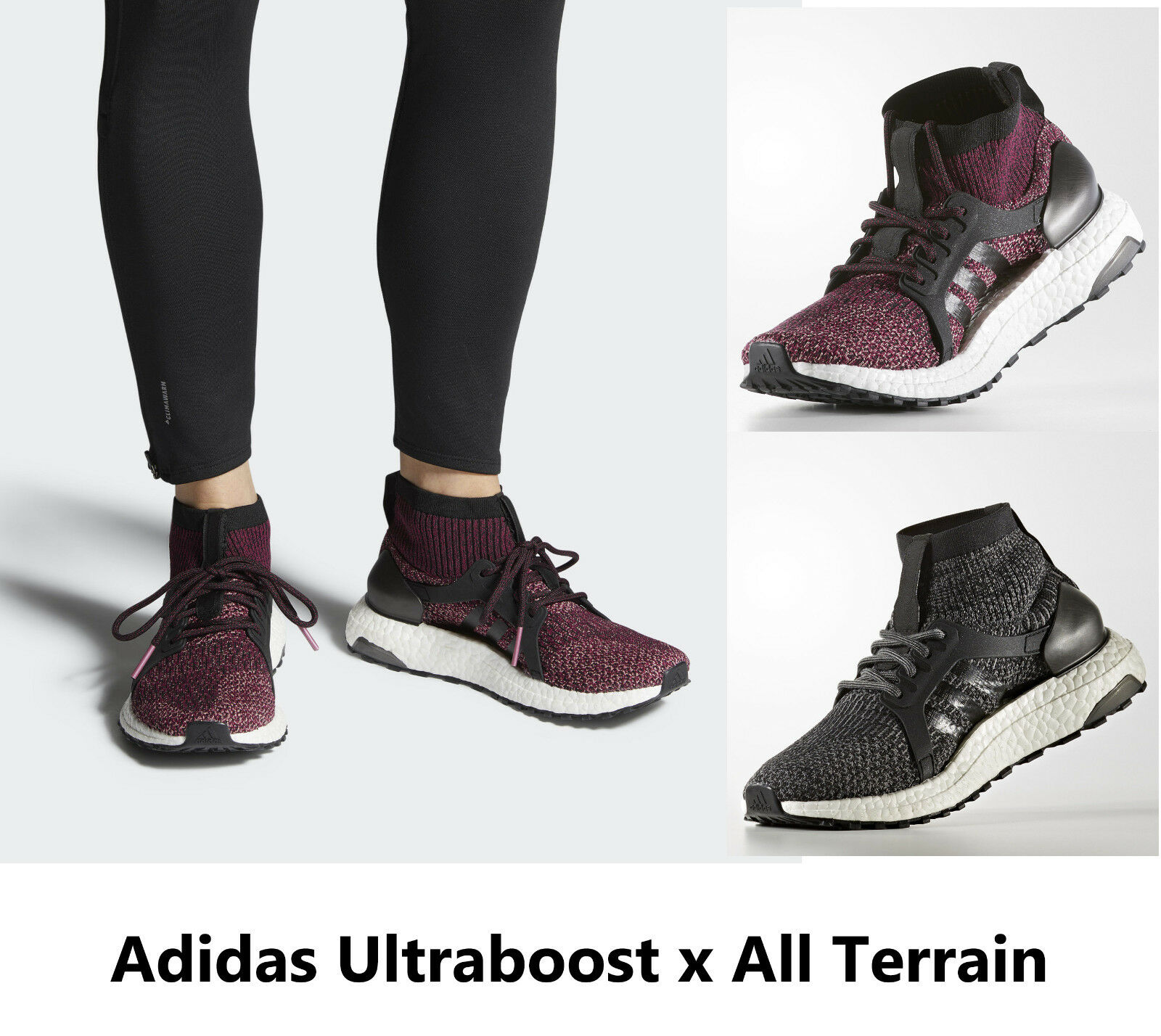 new style ed7a3 d78a3 Womens ADIDAS UltraBoost x All Terrain Shoes Sneakers NEW Authentic