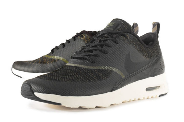 New Womens 11 NIKE  Air Max Thea KJCRD  Faded Olive Black shoes 718646-300