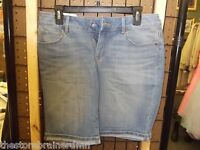 Sonoma - Teen - Bermuda Shorts - Denim - Size 4 (ac-19-15)