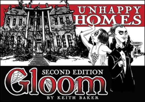 Gloom card game - Unhappy Homes 2nd Edition (New)