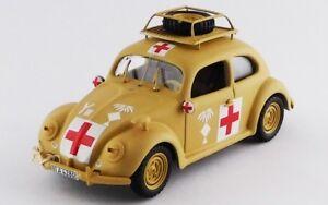 Volkswagen-Beetle-Ambulance-Africa-Korps-1941-Yellow-Rio-1-43-RIO4525