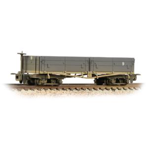 Grey Bachmann 393-051A Open Bogie Wagon Nocton Estates L R Weathered 009