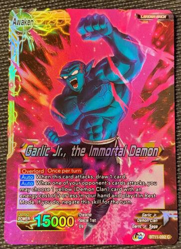 Garlic Jr the Immortal Demon BT11-092 C FOIL Dragon Ball Super TCG NEAR MINT