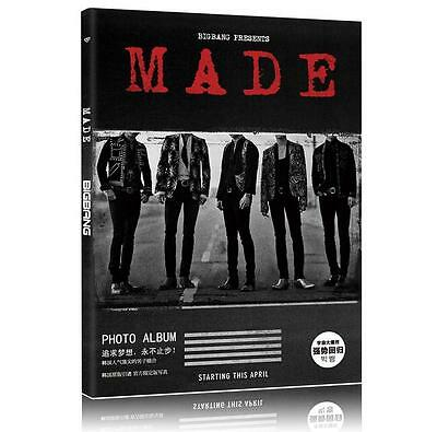 Bigbang MADE Photo Album Big Bang GD Taeyang Postcards Picture Photo Book KPOP