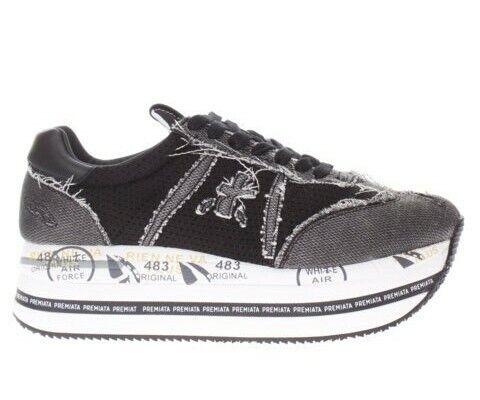 Premiata Donna Sneaker BETH VAR 4902 Nero Autunno//Inverno 2020