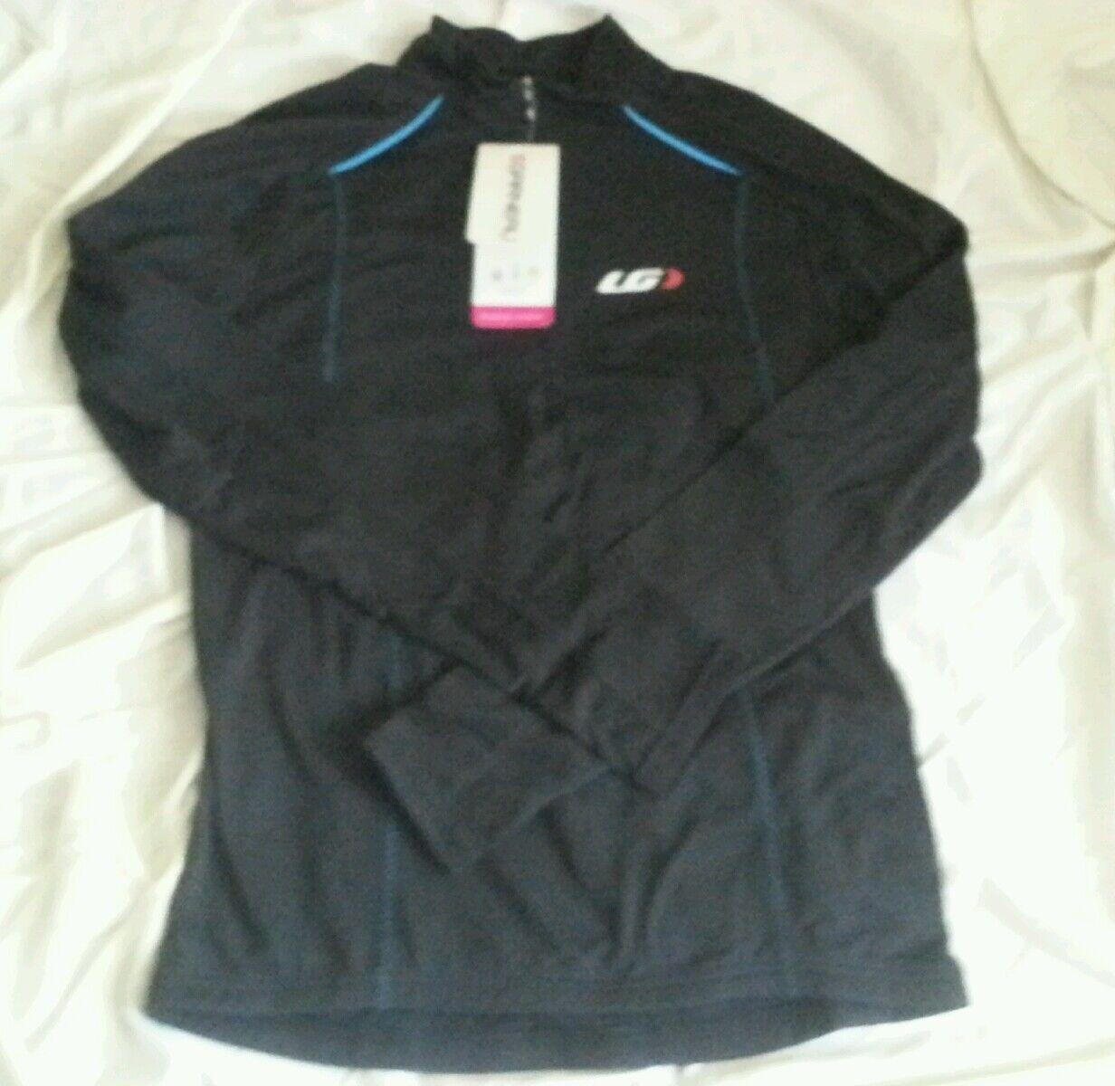 Louis Garneau Edge CT Long Long Long Sleeve Jersey XS/TP ae65ea