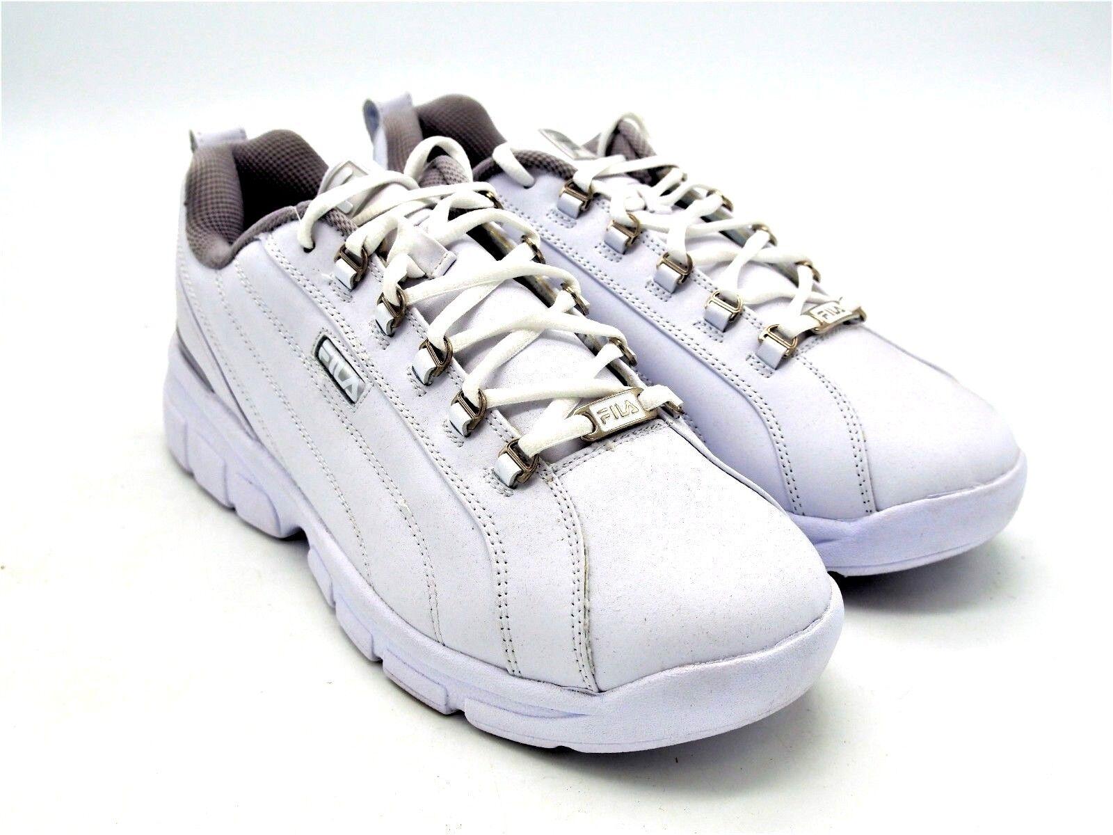 D1614 New Women's Fila Cool Max Memory Foam White Running shoes 11 M